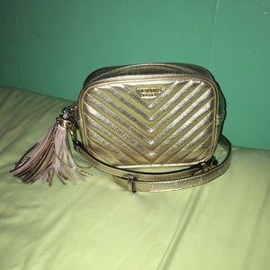 Gorgeous gold Victoria's Secret purse
